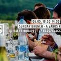 SUNDAY BRUNCH - Vasárnapi piknik a Bálna Budapest előtt