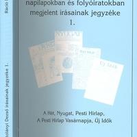 Készül a Kosztolányi kritikai kiadás