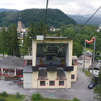 Salzburg kötélpályája: az Untersbergbahn