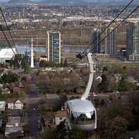 Kötélpálya a városban 5.: Kabinos lifttel kórházba - Portland Aerial Tram