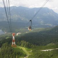 A Zugspitze másik oldala: az Eibseeseilbahn