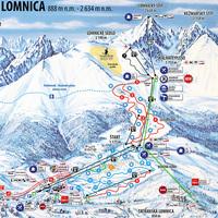 Út a Lomnici-csúcsra