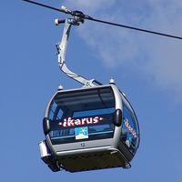 360 fokos panoráma és egy ismerős név: Kabinenbahn IKARUS