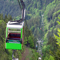 90 éves Freiburg felvonója, a Schauinslandbahn