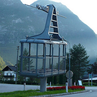 Egy szoborkabin története - a Dachstein-Krippenstein felvonó