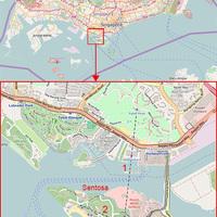 Szingapúri kötélpálya - öbölparti utazás egy irodaházon keresztül