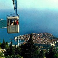 Dubrovnik panoráma-kötélpályája
