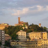 Egy genovai kastély és annak rendhagyó liftjéről