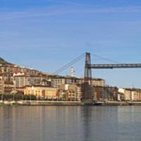 Kötélpálya a városban 6.: Vizcaya-híd - függőkomp a Nervión folyó felett