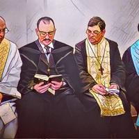 Egy katolikus, egy evangélikus és egy református beszélgetnek…
