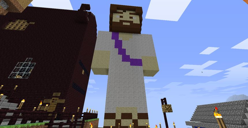 A Minecraft-Jézus megszületett. Örvendjünk?