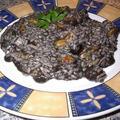 Fekete rizottó