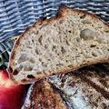 Almás-zabkásás kenyér