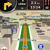 Megjelent az iGO új navigációs rendszere (3D)