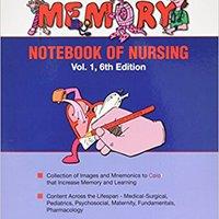 Memory Notebook Of Nursing, Vol 1 Mobi Download Book
