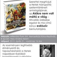 A keresztényüldözésről a könyvfesztiválon
