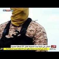 21 kopt keresztényt fejezett le az Iszlám Állam. Videó