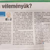 Könnyű pénzért személyeskedni a helyi újságban