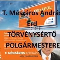 T. Mészáros András ismét megsértette a választásról szóló törvényt