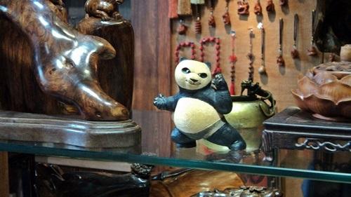 Az elmaradhatatlan panda-szuvenírek