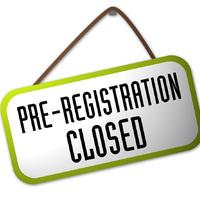 Az előzetes regisztráció lezárult
