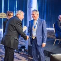 Közgazdász Életműdíj Kovács Árpádnak