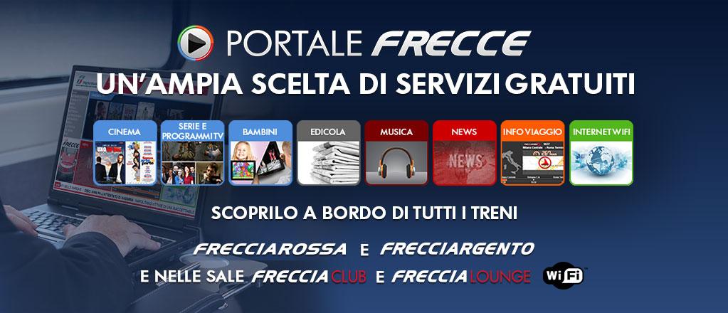 Az olasz államvasút, a Trenitalia is rendelkezik ilyen portállal (Forrás: trenitalia.com)