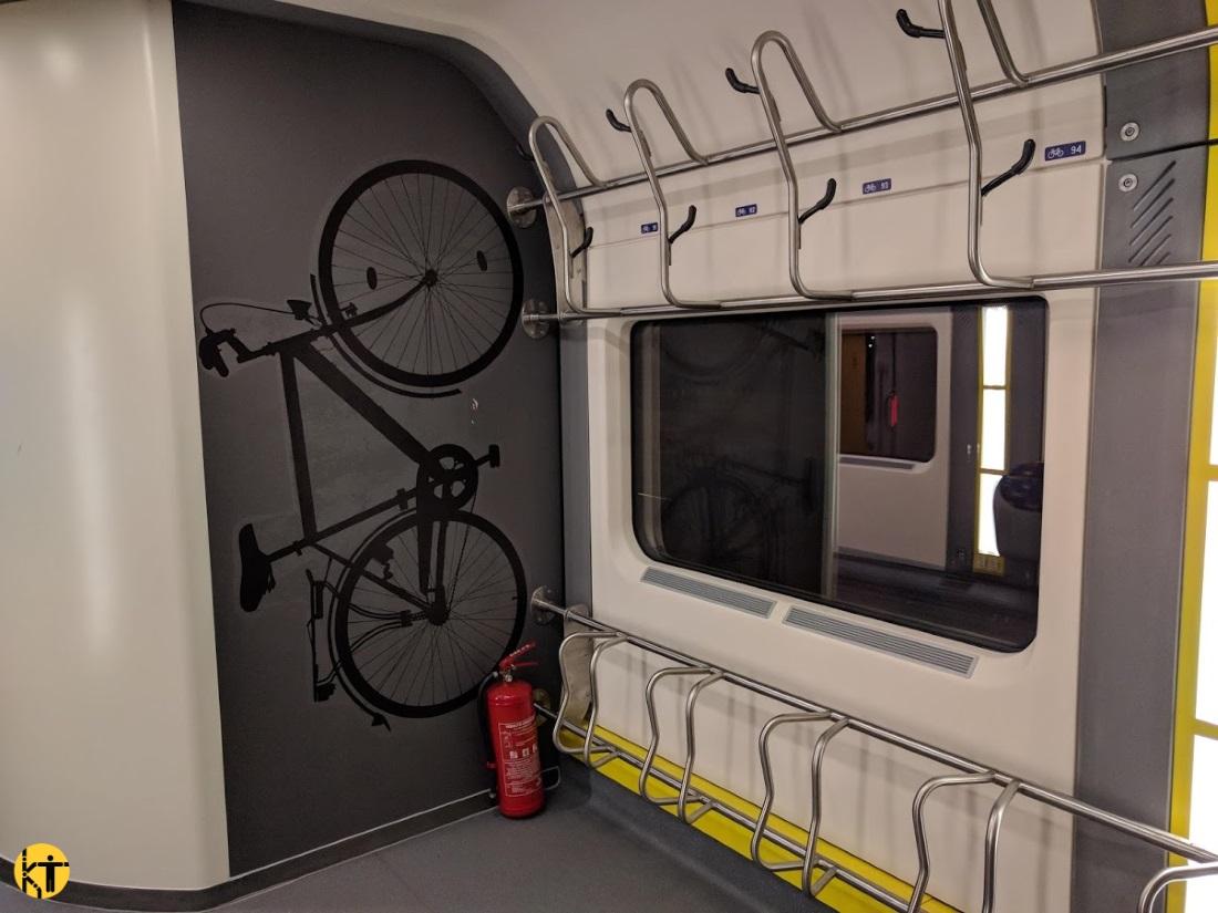 A MÁV-Start új IC+ kocsijain is van kerékpáros szakasz – legalább ennyi helyre minden távolsági vonaton szükség volna