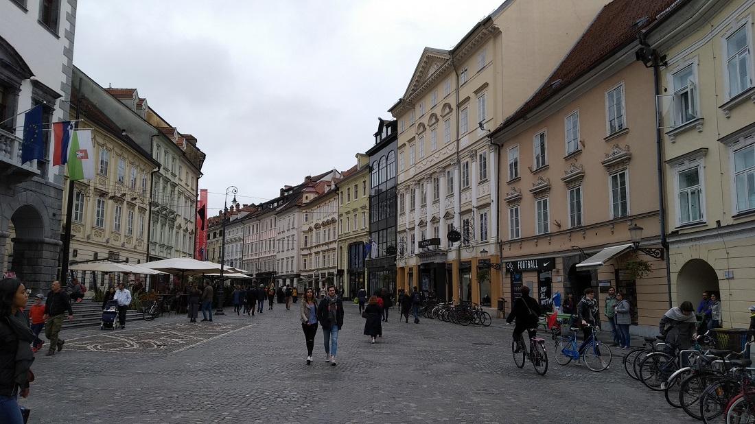 A belváros magja egy összefüggő sétálóövezet
