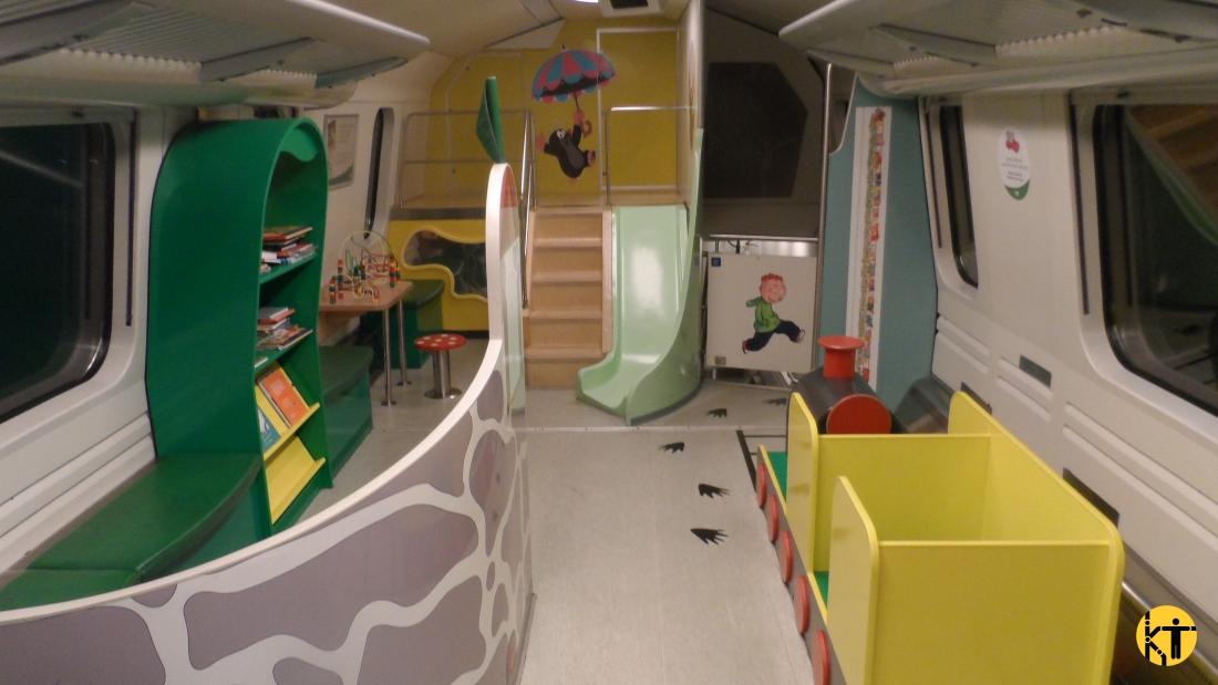 A finn VR távolsági vonatain komplett játszótér áll a gyerekek rendelkezésére