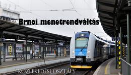 Brnoi menetrendváltás