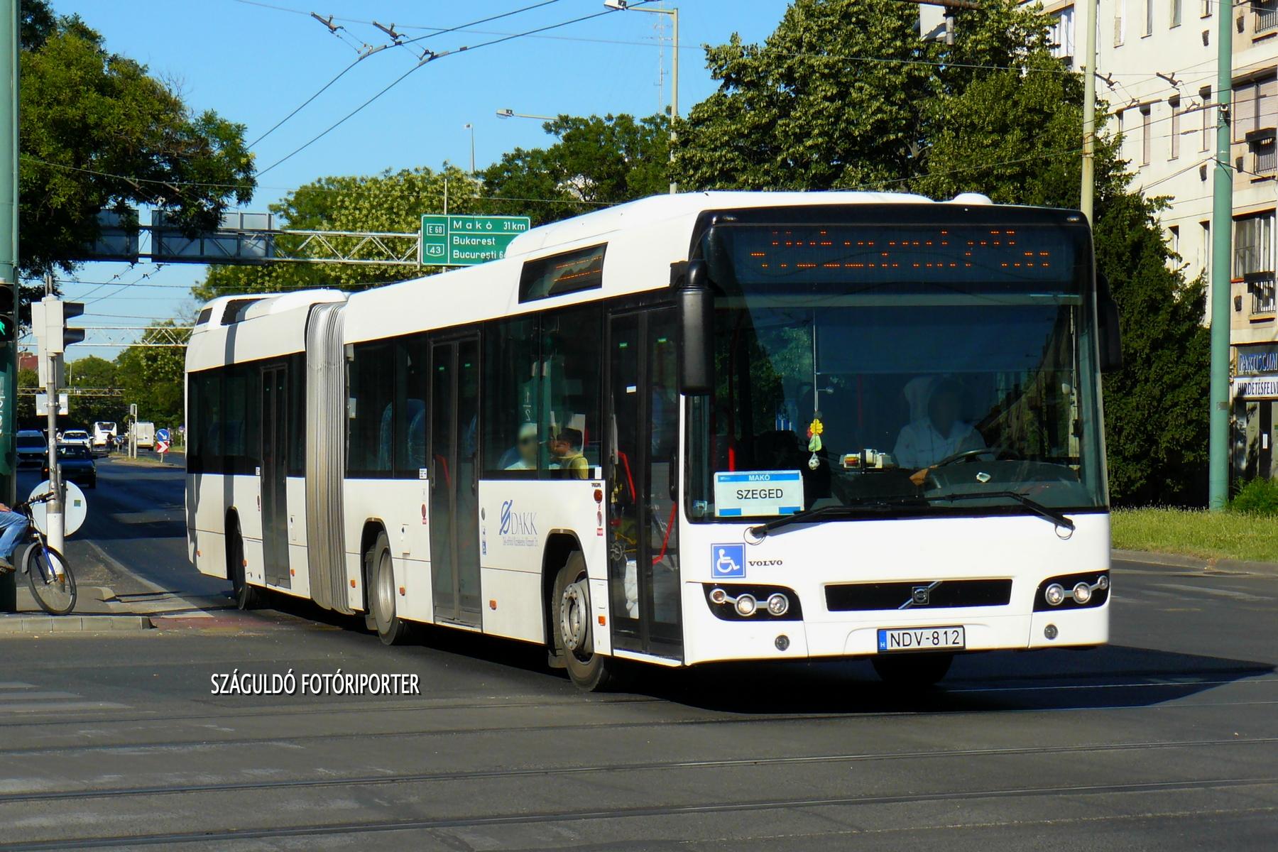 Szeged üzemhez tartozik a '812