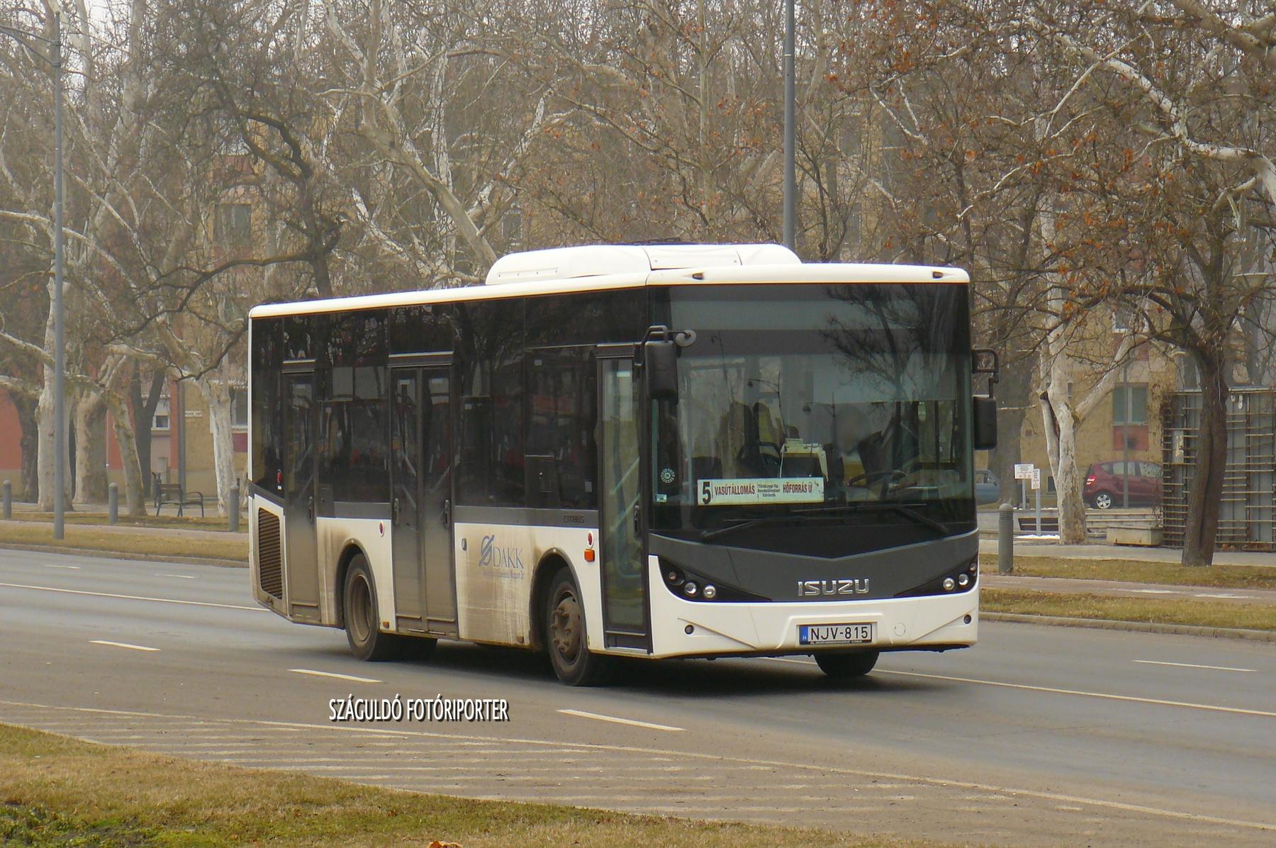 A gyulaiak új autóbusza