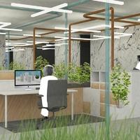 Az irodai zöldség csökkenti a stresszt