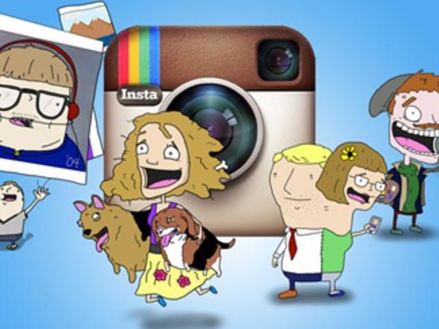 Ember és egyéb állatfajták az Instagramon