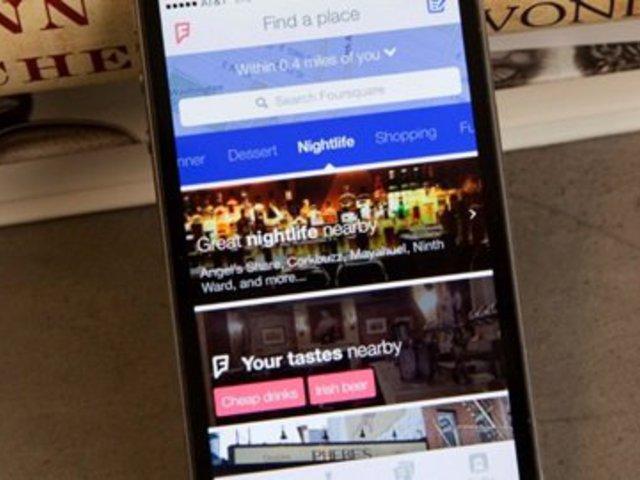 Ilyen lesz az új Foursquare