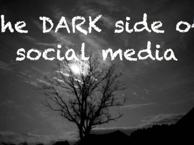 A közösségi média sötét oldala...