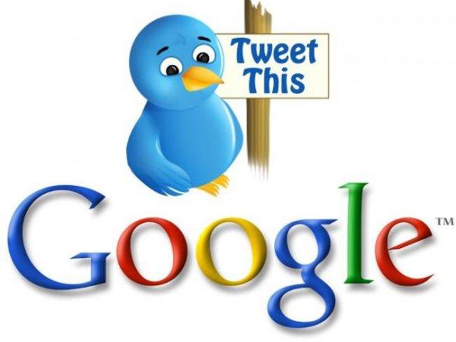 Szövetkezik a Google és a Twitter!