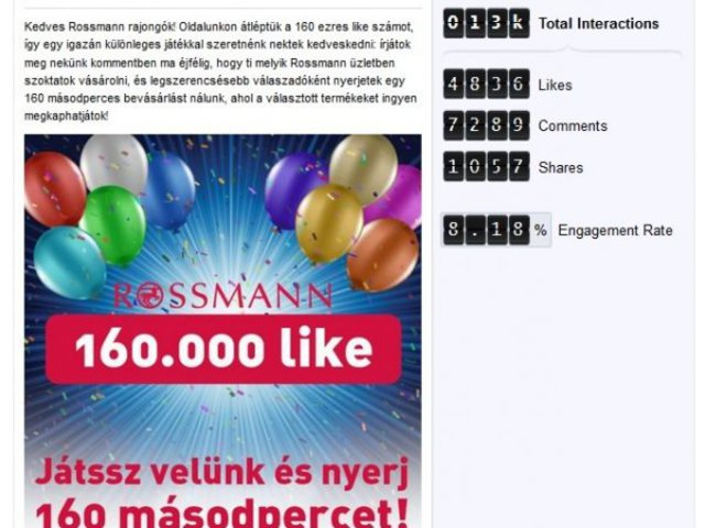 TOP3 júniusi Facebook-bejegyzés