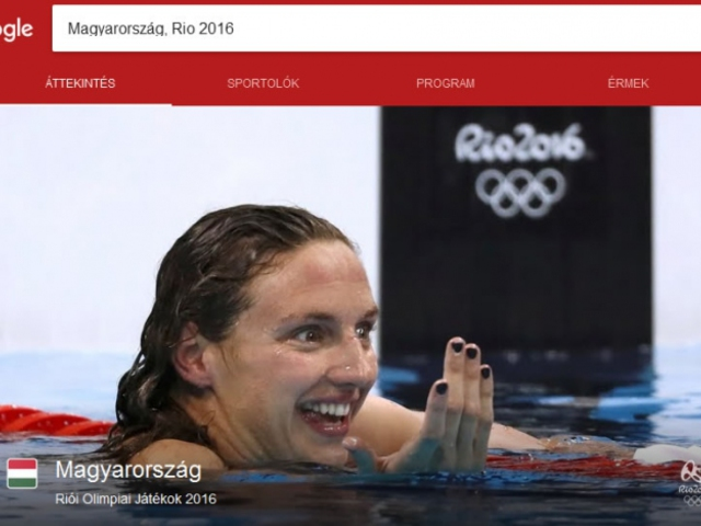 Ki nyerte az Olimpiát a Google-ben?