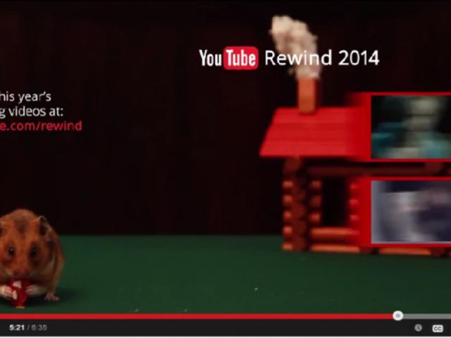 2014 a Youtube szerint...