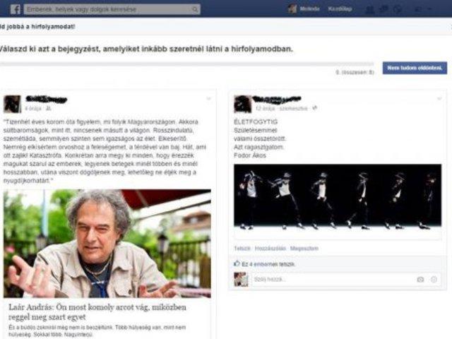 Változás jön a Facebook-on?