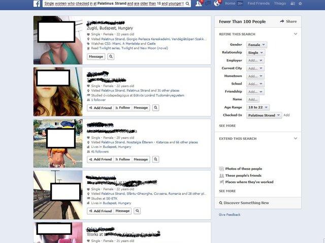 Ismerkedj strandon a Facebook Graph Search segítségével!