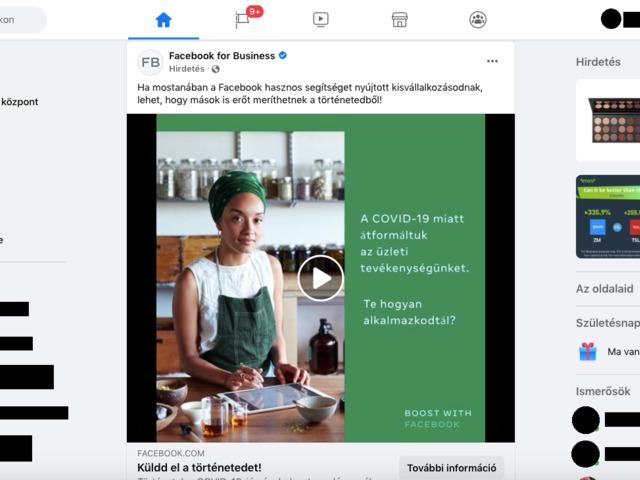 Te már megbarátkoztál az új dizájnnal a Fb-on?
