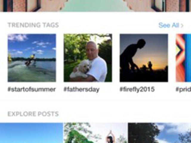 Instagram frissítés: Felfedező