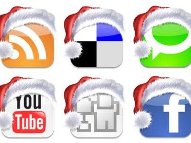 Karácsony a közösségi médiában