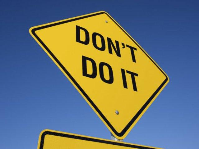 4 dolog, amit azonnal abba kell hagynod!