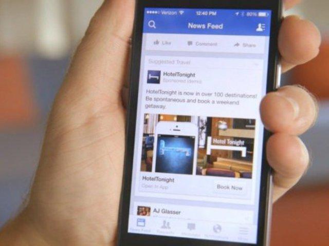 Facebook hirdetések mobilra