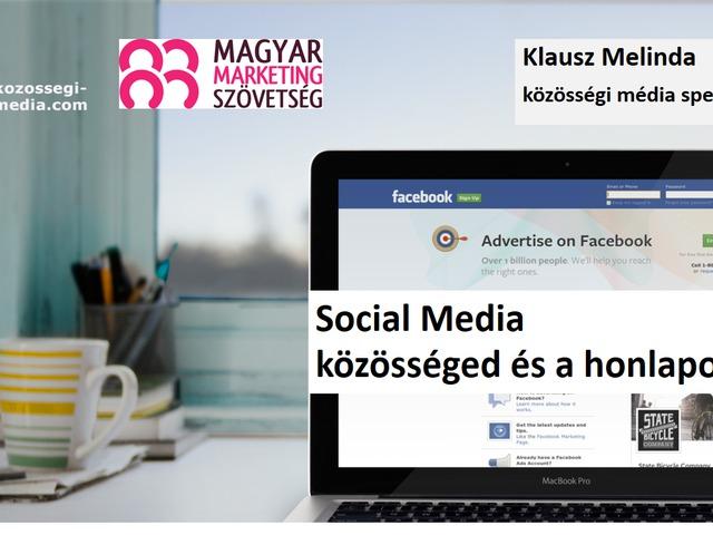 Social media - Honlapod és a közösség ereje