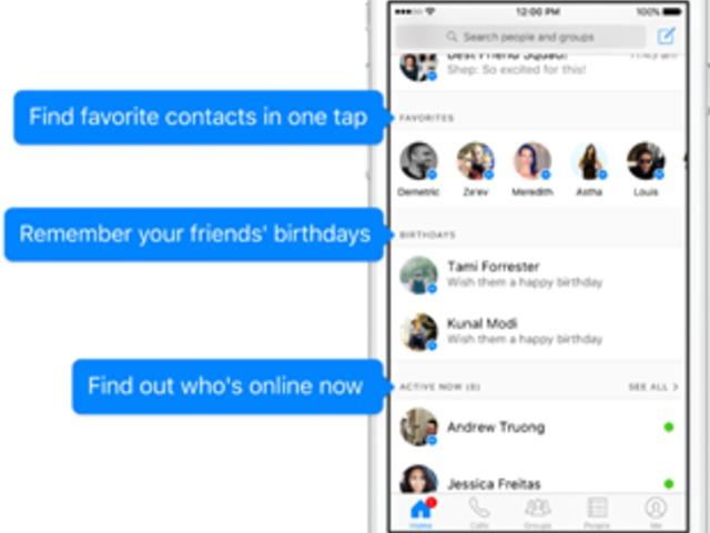 A Messenger használata most könnyebb, mint valaha...